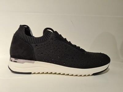 Caprice Sneaker Glitter Black