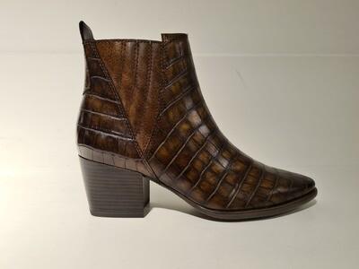 Marco Tozzi Boots Croco Brown