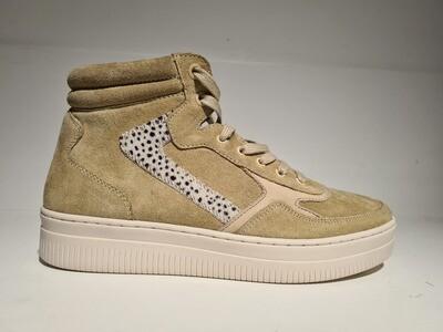 Maruti Sneaker high Suede Sand