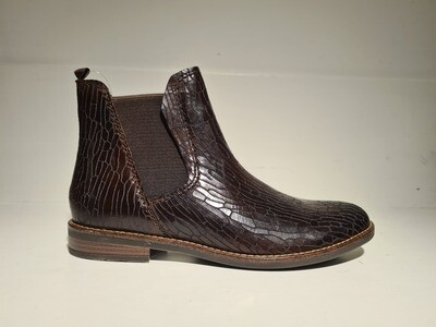Marco Tozzi Chelseaboot leather Brown