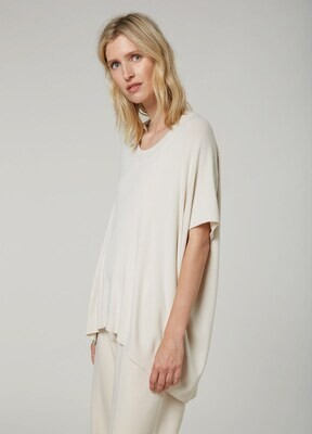 Summum Sweater Sleeveless Oversized Ivory