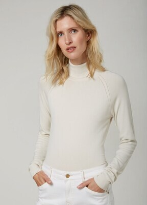 Summum Sweater Turtleneck Ivory