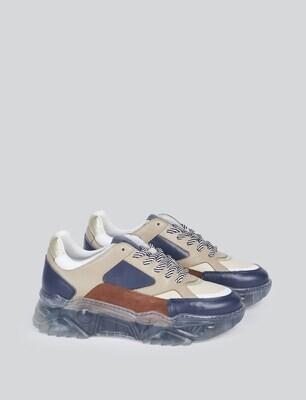Summum Sneakers Navy-Brown