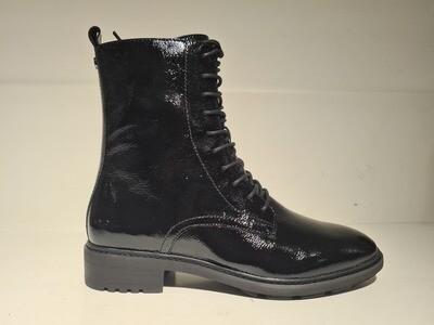 Caprice Boots Laque Black