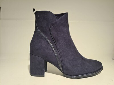 Marco Tozzi Heeled Boots Dark Blue