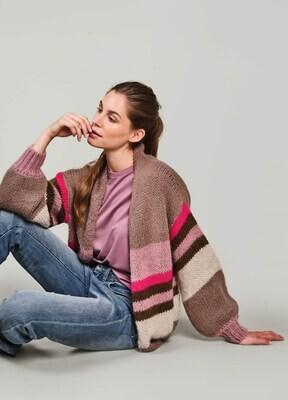 Summum Cardigan Alpaca Knit Multicolor