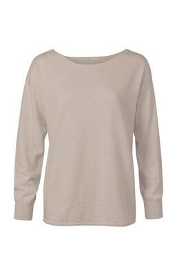 YAYA Sweater Cashmere Blend MUSHROOM OLD PINK