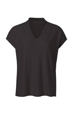 YAYA Sweater V-Neck OBSIDIAN BLACK