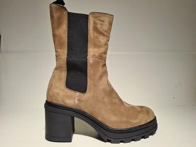 Caprice Boots Plateau Taupe