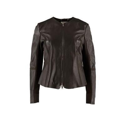 Rino & Pelle Leather Jacket Torri Black