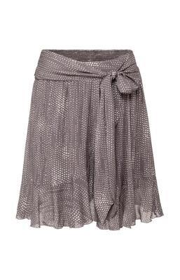 YAYA Skirt Faux Wrap VOLCANIC GLASS DARK GREY