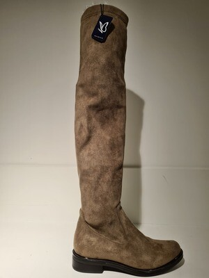 Caprice Overknee boots Taupe