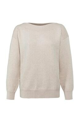 YAYA Sweater / 1000506-122 BEIGE MELANGE