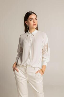 Expresso blouse/ 14022 gebroken wit