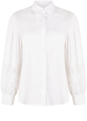 Tramontana blouse/ Q19-01-301 wit