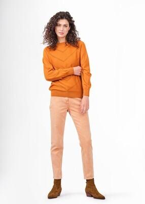 Sandwich Trousers / 24001730 Orange Brown