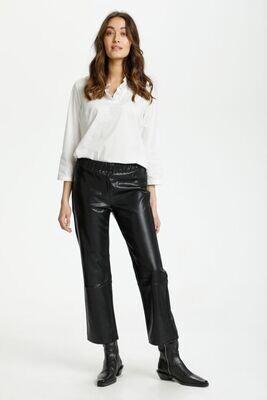 Culture DK Pants Vegan Leather / 50107918 Black