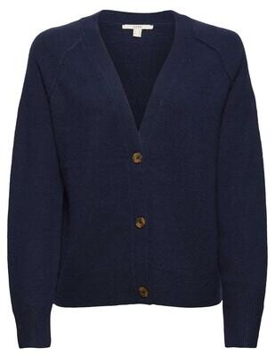 Esprit Cardigan Button / 991EE1I326 Navy Blue