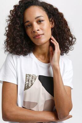 Kaffe T-Shirt / 10505747 White