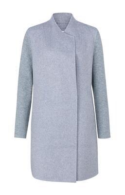 YAYA Cardigan Coat / 1611054-123 LIGHT GREY DESSIN