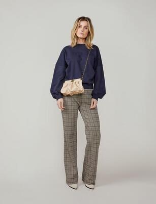 Summum Trousers Check 4s2191 Multicolor
