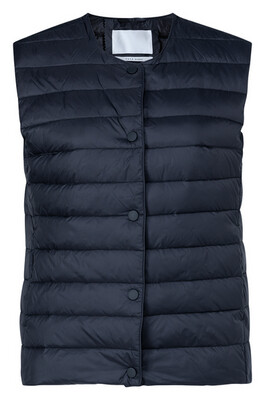 YAYA Bodywaist coat 1651006-123 NIGHT BLACK