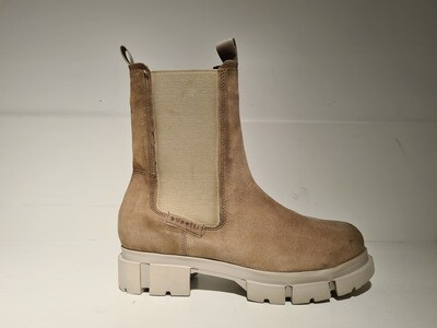 Bugatti Chelseaboot / 411-AOW35 Taupe/Grey