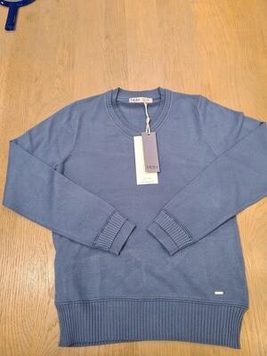 Md'm Pullover V-neck 3.50.078.03 Blue