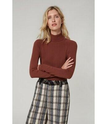 Summum Sweater Turtleneck /7s5529 Pecan