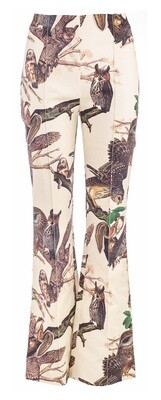 Iconik Trousers Flared / P117-01 Print