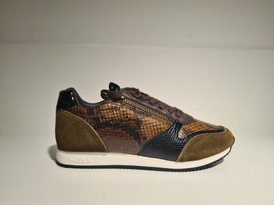 Mexx Sneaker / 24404 Brown print