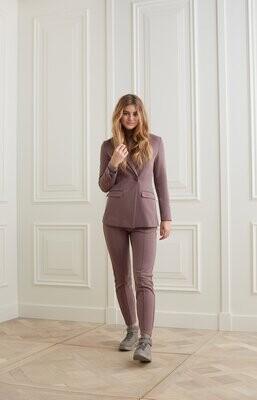 YAYA Trousers Jersey /1209164-123 SPARROW BROWN