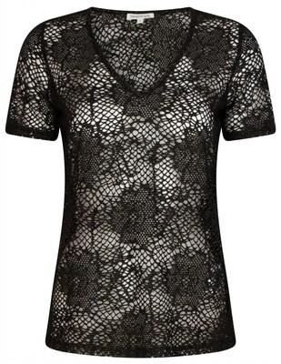 Tr Shirt Structure zwart