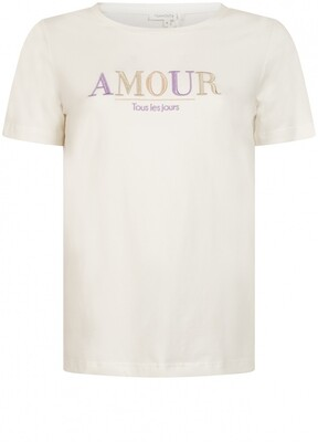 Tr T-Shirt Amour ecru
