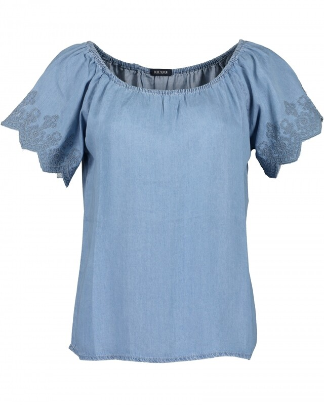 Blue Seven 180139 jeans midden
