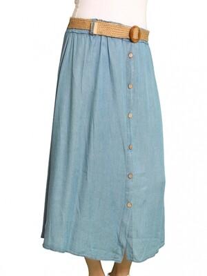 Hegler Doris Rok licht blauw
