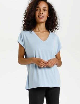 KAlise SS shirt licht blauw