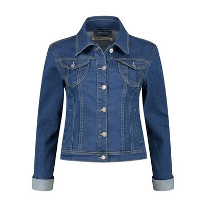 Gafair Jacket jeans midden