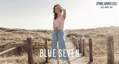 Blue Seven gaucho jeans midden