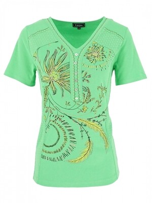Leona shirt schilder groen
