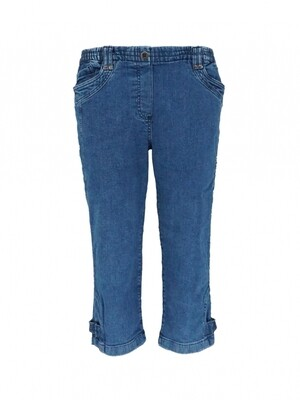 Leona Capri Bo jeans donker