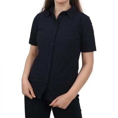 Realize blouse uni zwart