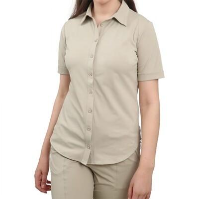 Realize blouse uni ecru