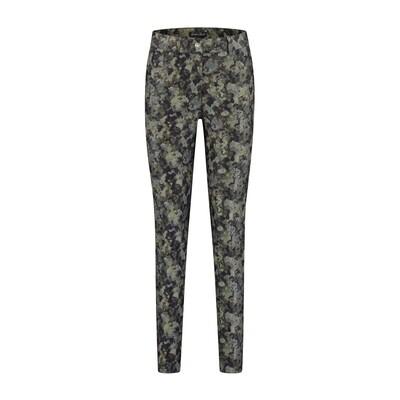 Gafair dessin broek zwart-grijs