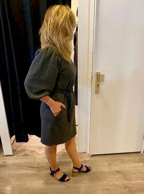 Kaffe Joulyn jurk grijs/grijs