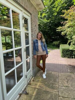 Cluca jasje jeans midden