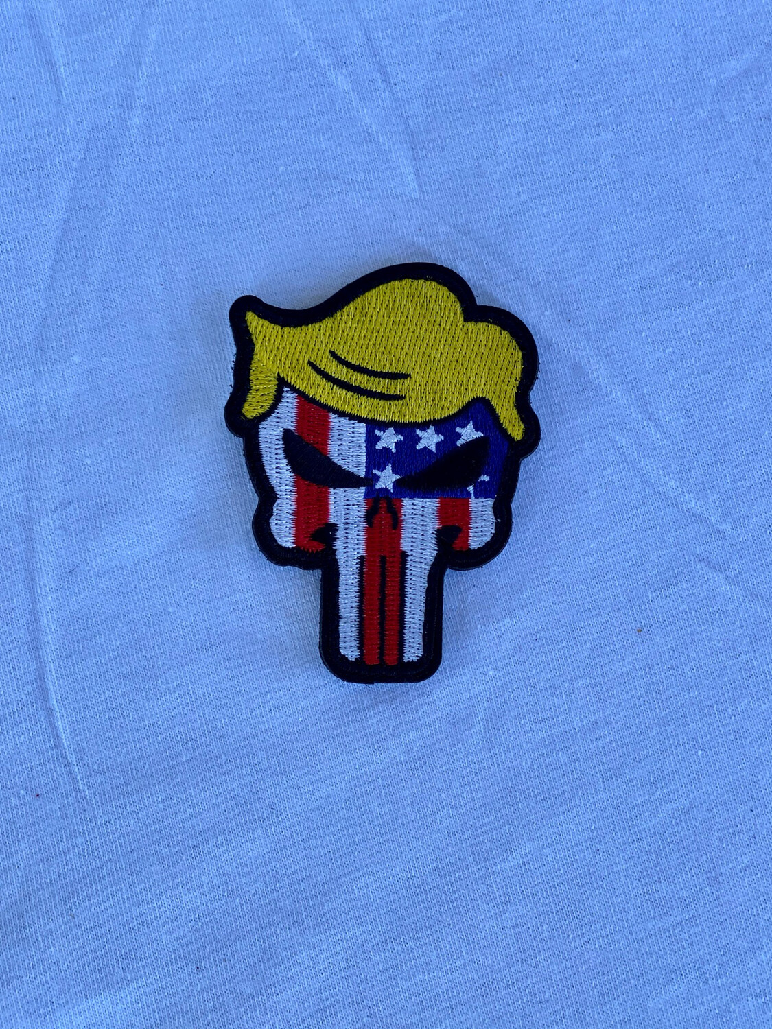 Trump Patriotic Punisher Patch