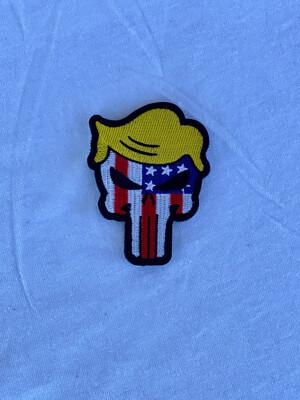 Trump Patriotic Punisher Patch