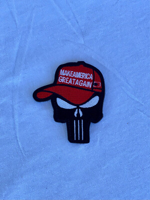 """""""Make America Great Again"""" Punisher Patch"""