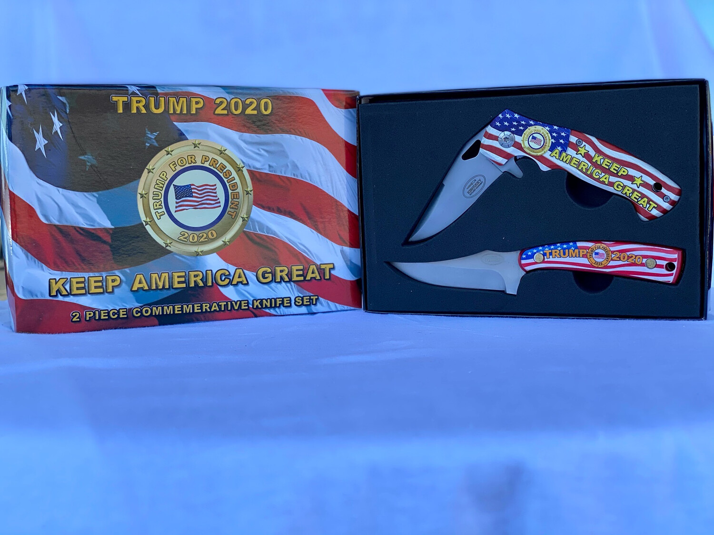 Trump Commemorative Knife Set
